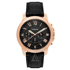 fossil grant fs5085 men s watch watches fossil men s grant watch