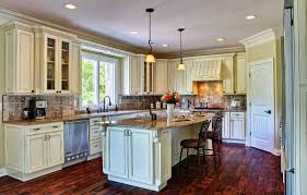 Kitchen Paint Color Ideas With Antique White Cabinets painting