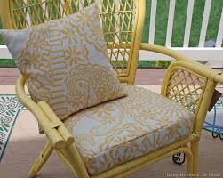 painting rattan furnitureCheery Yellow Rattan Chairs