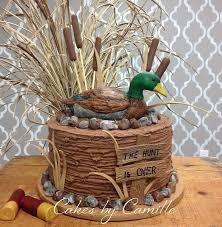 Duck Hunting Grooms Cake Grooms Cakes Wedding Cakes Duck