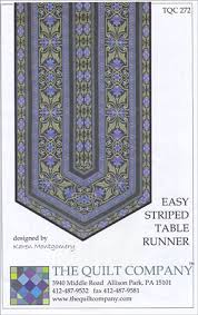 Easy Striped Table Runner Pattern from ConnectingThreads.com ... & Easy Striped Table Runner Pattern Adamdwight.com