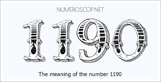 Angel Number 1190 Numerology Meaning Of Number 1190