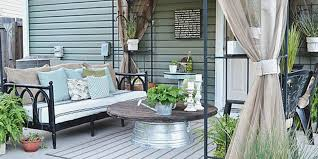Plain Diy Patio Decorating Ideas T Throughout Inspiration