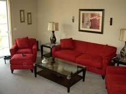 salsa red livingroom furniture