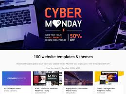 100 designs for cyber monday 50% discount wp daddy a special offer for cyber monday 100 stunning