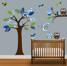 Awesome Baby Boys Room Ideas With Nursery Wall Decor You Will See Owl And  Bird On ...