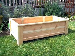 large wooden planters how containers for trees