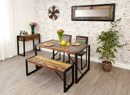 table 2 chairs and bench. baumhaus urban chic small dining set with 2 chairs and bench table e