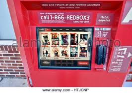 Who Makes Redbox Vending Machines Impressive Redbox DVD Rentals Stock Photo 48 Alamy