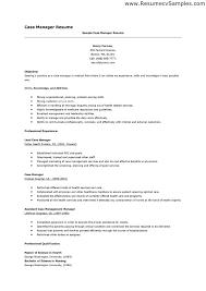 Manager Resume Objective Best 5415 Case Manager Resume Objective The Best Shalomhouseus