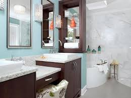 Bold Blue Master Bathroom 6 Photos