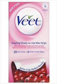 veet easy grip wax strips review and