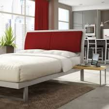 amisco bridge bed 12371 furniture bedroom urban. Studio Platform Bed 15113 By Amisco Bridge 12371 Furniture Bedroom Urban