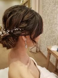 アラサー花嫁におすすめのラブリーすぎない30代のブライダルヘア Marry
