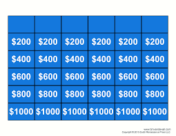 Free Jeopardy Template With Sound Jeopardy Template Rome Fontanacountryinn Com
