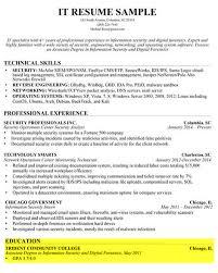 Writing A Professional Resume 13 Education Sample 2