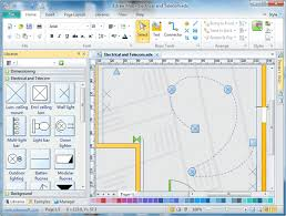 House Building Construction  floor plan software        Electrical Plans Software Free