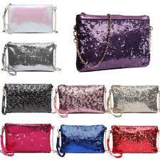 <b>Sequins</b> Faux Leather Envelope Bags & <b>Handbags</b> for <b>Women</b> | eBay