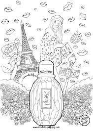 Coloriage Parfum Parisienne Yves Saint Laurent Adult Coloring Nouveaux Coloriages Archives Coloriages Difficiles Pour Adultes L L L L