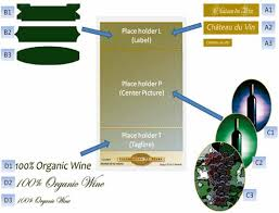 wine packaging template fig 1 template of the wine package design project with the