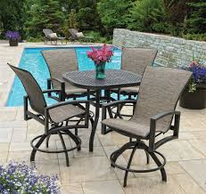make a beautification for your home by using bar height patio set for your home decorifusta