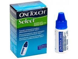 Контрольный раствор для глюкометра Оne touch select one touch select