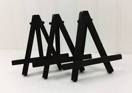 Painting Display Stands 100 Small Black Easels Miniature Art Tabletop Easel Place 48