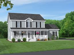 marvelous wrap around porch house plans two story