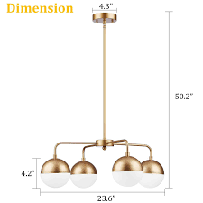 Caserti Modern Pendant Light Chandelier