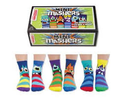 United Odd Socks MINI Mashers - Six Gifts | Age 5 Buy Toys for 5-Year-Old Boys