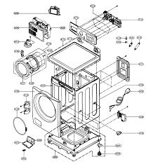 lg washer parts diagram lg image wiring diagram lg washer parts model wm2496hsm sears partsdirect on lg washer parts diagram
