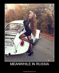 Meanwhile in Russia - Girl meme | Funny Dirty Adult Jokes, Memes ... via Relatably.com
