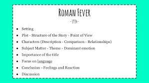 r fever analysis
