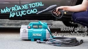 Máy rửa xe Total áp lực cao 1500W giá rẻ sale 12/12 shopee, có ngon bổ rẻ ?  - YouTube