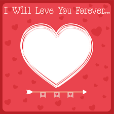 Edit Love You Forever Heart Frame With Custom Photo And Name Impressive Love Pics With Name Edit