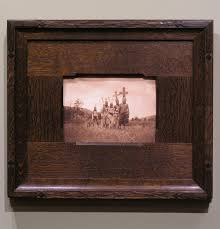framing a small edward curtis another carved corner design holton studio frame makers
