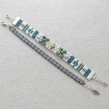 Bead Loom Bracelet Patterns Classy Lisa Yang's Jewelry Blog Making Loomed Bracelets With A Ricks