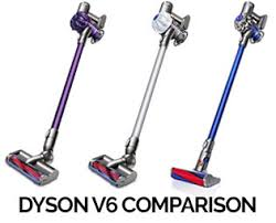 Dyson Stick Vacuum Comparison Chart Dyson V6 Comparison Chart Compare Model Features Tools