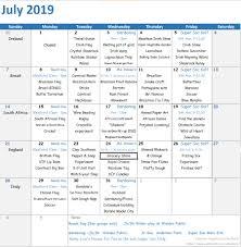 Summer Calendars Walden Day Care Centre