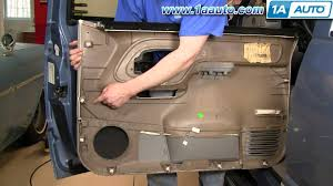 how to install replace door panel chevy gmc pickup truck or suv 95 how to install replace door panel chevy gmc pickup truck or suv 95 98 1aauto com