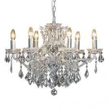 lighting wonderful 6 arm chandelier 9 arabella shallow french silver 21230 p waterford arm chandelier