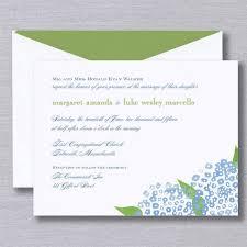 Wedding Invitations Watercolor Truly Watercolor Hydrangea Bright White Wedding Invitation Crane
