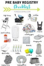 baby item checklist first time mom baby registry checklist