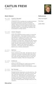 Musician Resume Example Gorgeous Property Manager Resume Samples VisualCV Resume Samples Database