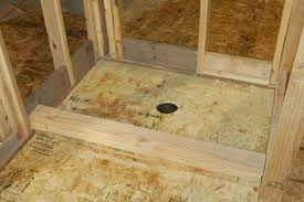 how to build a tile shower pan how to build a shower pan with redgard