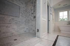 Marble Bathrooms Black White Marble Tile Bathroom City Gate Beach Road