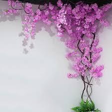 Fake Cherry Blossom Tree With Lights Amazon Com Hspoup Artificial Cherry Blossom Trees Light