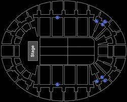 Neal Blaisdell Concert Hall Seating Chart