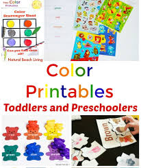 Coloring is a very useful hobby for kids. 25 Preschool Color Activities Printables Learning Colors Printables Natural Beach Living