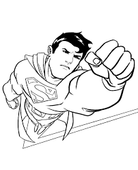 42 superman printable coloring pages for kids. Superman Classic Coloring Picture To Print Topcoloringpages Net